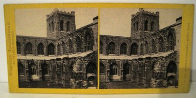 <em>Stereograph: Chester Cathedral, Chester, England</em>. Brooklyn Museum, Dick S. Ramsay Fund, 40.623.43 (Photo: Brooklyn Museum, COLL.40.623.43.jpg)