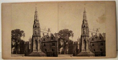 <em>Stereograph: Martyrs' Memorial, Oxford, England</em>. Brooklyn Museum, Dick S. Ramsay Fund, 40.623.48 (Photo: Brooklyn Museum, COLL.40.623.48.jpg)