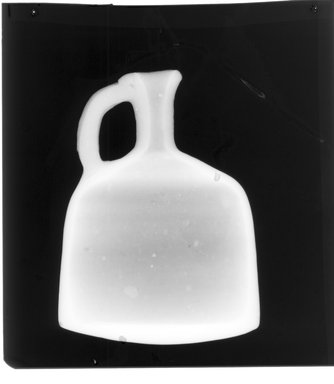 <em>Decanter</em>. Clay, slip, 5 1/2 in. (14 cm). Brooklyn Museum, Gift of Harvey A. Herbert, 1992.46.6. Creative Commons-BY (Photo: Brooklyn Museum, CONS.1992.46.6_xrs_detail01.jpg)