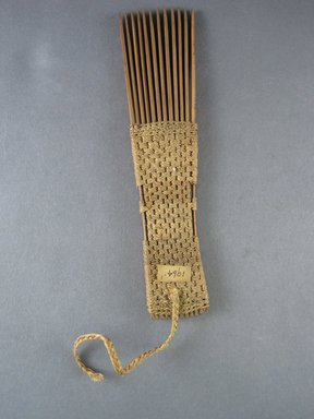 <em>Comb</em>. Reed Brooklyn Museum, Brooklyn Museum Collection, 00.99.1. Creative Commons-BY (Photo: Brooklyn Museum, CUR.00.99.1_view1.jpg)