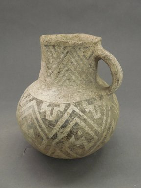 Ancient Pueblo (Anasazi) (probably). <em>Pitcher</em>. Clay, slip, pigment, 6 1/2 x 5 7/8 in. (16.5 x 14.9 cm). Brooklyn Museum, By exchange, 01.1535.2213. Creative Commons-BY (Photo: Brooklyn Museum, CUR.01.1535.2213.jpg)