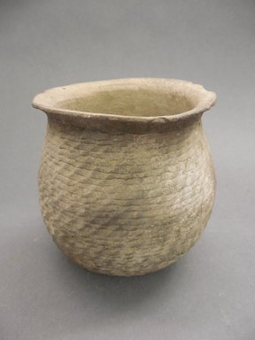 Southwest (unidentified). <em>Coiled Cooking Pot</em>. Clay, slip, 5 1/4 x 5 1/8 in. (13.3 x 13 cm). Brooklyn Museum, Gift of Charles A. Schieren, 01.1538.1739. Creative Commons-BY (Photo: Brooklyn Museum, CUR.01.1538.1739.jpg)