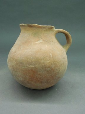 Ancient Pueblo (Anasazi). <em>Redware Pitcher</em>. Clay, slip Brooklyn Museum, Gift of Charles A. Schieren, 01.1538.1741. Creative Commons-BY (Photo: Brooklyn Museum, CUR.01.1538.1741.jpg)