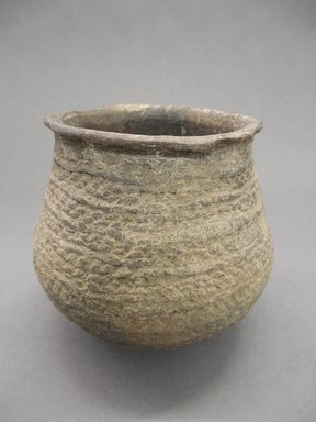 Ancient Pueblo (Anasazi). <em>Jar</em>. Clay, 4 3/4 x 5 1/8 in. (12.1 x 13 cm). Brooklyn Museum, Gift of Charles A. Schieren, 01.1538.1789. Creative Commons-BY (Photo: Brooklyn Museum, CUR.01.1538.1789.jpg)