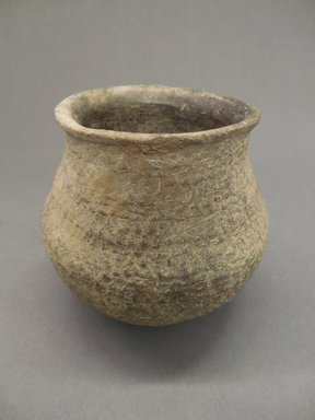 Ancient Pueblo (Anasazi). <em>Jar</em>, 900-1300 C.E. Clay, 4 1/4 x 4 1/2 in. (10.8 x 11.4 cm). Brooklyn Museum, Gift of Charles A. Schieren, 01.1538.1791. Creative Commons-BY (Photo: Brooklyn Museum, CUR.01.1538.1791.jpg)