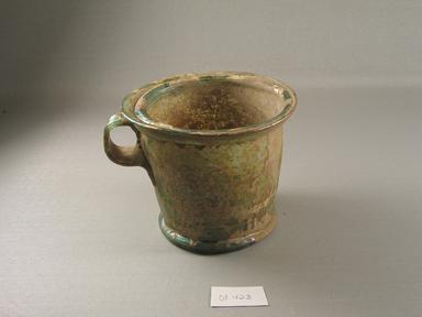 Roman. <em>Cup</em>, 1st century C.E. Glass, 4 5/16 x greatest diam. 5 1/4 in. (11 x 13.3 cm). Brooklyn Museum, Gift of Robert B. Woodward, 01.423. Creative Commons-BY (Photo: Brooklyn Museum, CUR.01.423.jpg)