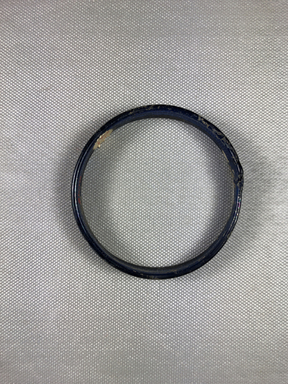 Roman. <em>Blue Bracelet</em>, 4th century C.E. Glass, 1/2 × 3/16 × 3 in. (1.3 × 0.4 × 7.6 cm). Brooklyn Museum, Gift of Robert B. Woodward, 01.98. Creative Commons-BY (Photo: , CUR.01.98_view01.jpg)