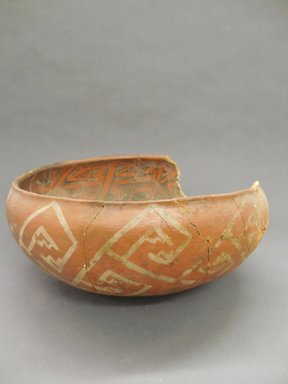 Possibly Mimbres. <em>Bowl</em>. Clay, slip, 6 1/2 x 13 in. (16.5 x 33 cm). Brooklyn Museum, Gift of Charles A. Schieren, 02.256.2270. Creative Commons-BY (Photo: Brooklyn Museum, CUR.02.256.2270_view1.jpg)