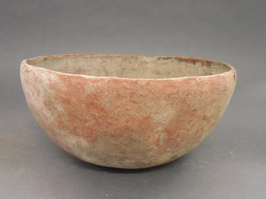 Ancient Pueblo (Anasazi). <em>Bowl</em>. Clay, slip, 9 1/2 x 5 in. (24.1 x 12.7 cm). Brooklyn Museum, Gift of Charles A. Schieren, 02.256.2273. Creative Commons-BY (Photo: Brooklyn Museum, CUR.02.256.2273_view1.jpg)