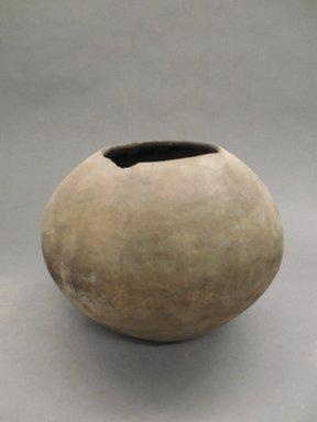 Ancient Pueblo (Anasazi). <em>Jar</em>. Clay, slip, 6 5/8 x 3 3/4 in.  (16.8 x 9.5 cm). Brooklyn Museum, Riggs Pueblo Pottery Fund, 02.257.2321. Creative Commons-BY (Photo: Brooklyn Museum, CUR.02.257.2321.jpg)
