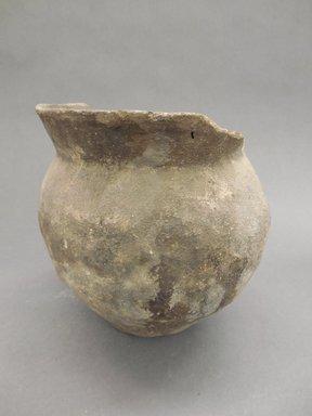 Ancient Pueblo (Anasazi). <em>Jar</em>. Clay, slip, 7 1/2 x 6 1/2 (19.1 x 16.5 cm) . Brooklyn Museum, Riggs Pueblo Pottery Fund, 02.257.2324. Creative Commons-BY (Photo: Brooklyn Museum, CUR.02.257.2324.jpg)