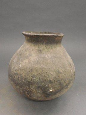 Possibly Ancient Pueblo (Anasazi). <em>Jar</em>. Clay, slip, 7 7/8 x 4 5/8 in.  (20.0 x 11.7 cm). Brooklyn Museum, Riggs Pueblo Pottery Fund, 02.257.2361. Creative Commons-BY (Photo: Brooklyn Museum, CUR.02.257.2361.jpg)