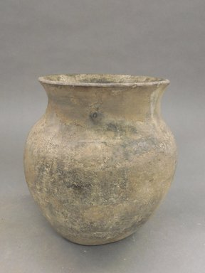 Walatowa (Jemez Pueblo). <em>Jar</em>. Clay, slip, 8 1/8 x 6 in. (20.6 x 15.2 cm). Brooklyn Museum, Riggs Pueblo Pottery Fund, 02.257.2362. Creative Commons-BY (Photo: Brooklyn Museum, CUR.02.257.2362.jpg)