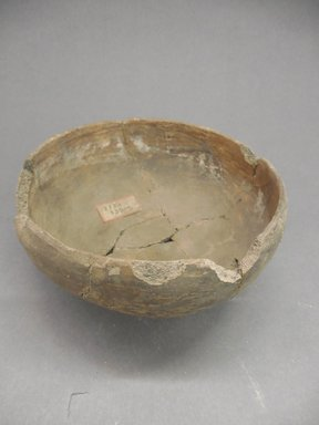 Ancient Pueblo (Anasazi). <em>Bowl</em>. Clay, slip, 3 x 6 1/2 in.  (7.6 x 16.5 cm). Brooklyn Museum, Riggs Pueblo Pottery Fund, 02.257.2442. Creative Commons-BY (Photo: Brooklyn Museum, CUR.02.257.2442.jpg)