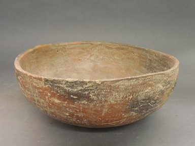 Ancient Pueblo (Anasazi). <em>Bowl</em>. Clay, 4 3/8 x 9 3/4 in.  (11.1 x 24.8 cm). Brooklyn Museum, Riggs Pueblo Pottery Fund, 02.257.2444. Creative Commons-BY (Photo: Brooklyn Museum, CUR.02.257.2444.jpg)