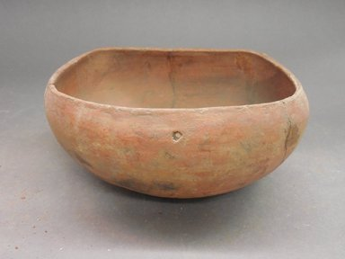 Ancient Pueblo (Anasazi). <em>Bowl</em>. Clay, slip, 3 1/4 x 6 in. (8.3 x 15.2 cm). Brooklyn Museum, Riggs Pueblo Pottery Fund, 02.257.2496. Creative Commons-BY (Photo: Brooklyn Museum, CUR.02.257.2496.jpg)