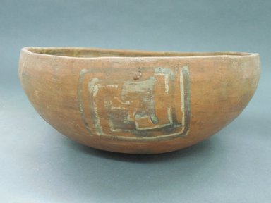 Ancient Pueblo (Anasazi). <em>Bowl</em>. Clay, slip, 5 x 10 7/8 in. (12.7 x 27.6 cm). Brooklyn Museum, Riggs Pueblo Pottery Fund, 02.257.2515. Creative Commons-BY (Photo: Brooklyn Museum, CUR.02.257.2515_view1.jpg)