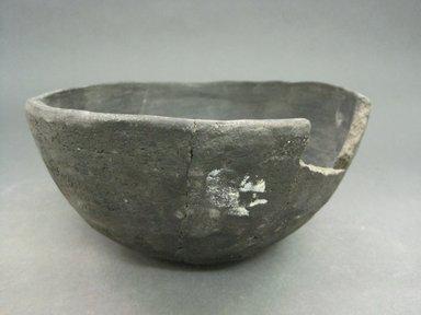 Kewa (Santo Domingo Pueblo). <em>Bowl</em>. Clay, slip, 3 3/8 in.  (8.6 cm). Brooklyn Museum, Riggs Pueblo Pottery Fund, 02.257.2554. Creative Commons-BY (Photo: Brooklyn Museum, CUR.02.257.2554.jpg)