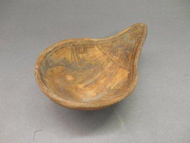 Ancient Pueblo (Anasazi). <em>Ladle</em>. Clay, slip, 1 7/8 x 4 1/2 in.  (4.8 x 11.4 cm). Brooklyn Museum, Riggs Pueblo Pottery Fund, 02.257.2592. Creative Commons-BY (Photo: Brooklyn Museum, CUR.02.257.2592.jpg)