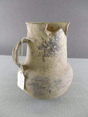 Ancient Pueblo (Anasazi). <em>Pitcher</em>. Clay, slip, 6 3/4 x 5 1/2 in. (17.1 x 14 cm). Brooklyn Museum, Gift of Charles A. Schieren, 02.259.2685. Creative Commons-BY (Photo: Brooklyn Museum, CUR.02.259.2685.jpg)