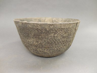 Ancient Pueblo (Anasazi). <em>Bowl</em>. Clay, slip, 4 1/2 x 8 1/2 in. (11.4 x 21.6 cm). Brooklyn Museum, Gift of Charles A. Schieren, 02.259.2708. Creative Commons-BY (Photo: Brooklyn Museum, CUR.02.259.2708.jpg)