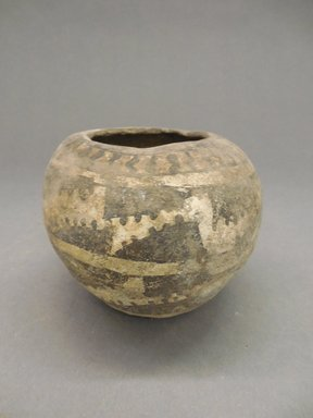 Ancient Pueblo (Anasazi). <em>Jar</em>, Probably 700-900, Pueblo I. Clay, slip, pigment, 3 x 4 in. (7.6 x 10.2 cm). Brooklyn Museum, Museum Expedition 1903, Purchased with funds given by A. Augustus Healy and George Foster Peabody, 03.325.10843. Creative Commons-BY (Photo: Brooklyn Museum, CUR.03.325.10843.jpg)