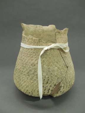 Ancient Pueblo (Anasazi). <em>Jar</em>, Probably 900-1100, Pueblo II. Clay, 7 3/8 x 7 in. (18.7 x 17.8 cm). Brooklyn Museum, Museum Expedition 1903, Purchased with funds given by A. Augustus Healy and George Foster Peabody, 03.325.10898. Creative Commons-BY (Photo: Brooklyn Museum, CUR.03.325.10898.jpg)