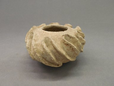 Pueblo. <em>Jar</em>, Probably 900-1100, Pueblo II. Clay, 2 3/8 x 4 in. (6 x 10.2 cm). Brooklyn Museum, Museum Expedition 1903, Purchased with funds given by A. Augustus Healy and George Foster Peabody, 03.325.11030. Creative Commons-BY (Photo: Brooklyn Museum, CUR.03.325.11030.jpg)