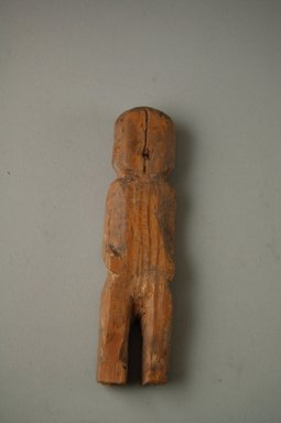 She-we-na (Zuni Pueblo). <em>Kachina Doll (wi-ha)</em>. Wood, 5 7/8 x 1 1/2 x 3/4 in.  (15 x 3.8 x 1.9 cm). Brooklyn Museum, Museum Expedition 1903, Museum Collection Fund, 03.325.3200. Creative Commons-BY (Photo: Brooklyn Museum, CUR.03.325.3200_front.jpg)