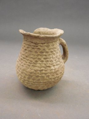 She-we-na (Zuni Pueblo). <em>Small Coiled Jar (Ai-mush-trin)</em>. Clay, 3 3/4 x 3 1/2 in. (9.5 x 8.9 cm). Brooklyn Museum, Museum Expedition 1903, Museum Collection Fund, 03.325.3498. Creative Commons-BY (Photo: Brooklyn Museum, CUR.03.325.3498.jpg)
