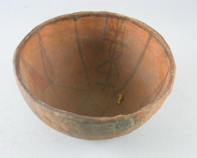 Navajo. <em>Bowl (Tetsa)</em>. Pottery, (8.0 x 14.0 cm). Brooklyn Museum, Museum Expedition 1903, Museum Collection Fund, 03.325.3787. Creative Commons-BY (Photo: Brooklyn Museum, CUR.03.325.3787.jpg)