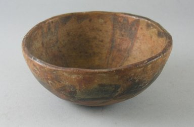 Navajo. <em>Bowl (Tetsa)</em>. Pottery, (5.0 x 12.5 cm). Brooklyn Museum, Museum Expedition 1903, Museum Collection Fund, 03.325.3788. Creative Commons-BY (Photo: Brooklyn Museum, CUR.03.325.3788.jpg)
