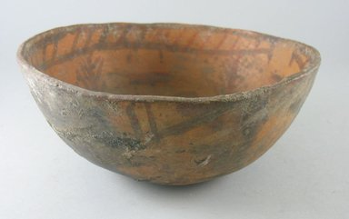 Navajo. <em>Bowl (Tetsa)</em>. Pottery, (9.0 x 22.0 cm). Brooklyn Museum, Museum Expedition 1903, Museum Collection Fund, 03.325.3792. Creative Commons-BY (Photo: Brooklyn Museum, CUR.03.325.3792.jpg)