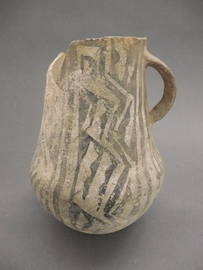 Ancient Pueblo (Anasazi). <em>Pitcher</em>, 1070-1150 (probably). Clay, slip, 7 1/2 in. (19.1 cm). Brooklyn Museum, Museum Expedition 1903, Museum Collection Fund, 03.325.4192. Creative Commons-BY (Photo: Brooklyn Museum, CUR.03.325.4192.jpg)