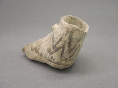 Ancient Pueblo (Anasazi). <em>Miniature Pitcher</em>, 875-1000 (probably). Clay, slip, 2 3/4 x 3 1/ in. (7 x 7.9 cm). Brooklyn Museum, Museum Expedition 1903, Museum Collection Fund, 03.325.4196. Creative Commons-BY (Photo: Brooklyn Museum, CUR.03.325.4196.jpg)