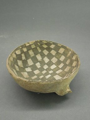 Ancient Pueblo (Anasazi). <em>Ladle Fragment</em>, 900-1100 (probably). Clay, slip, pigment, 1 5/8 x 3 3/4 in (4.1 x 9.5 cm). Brooklyn Museum, Museum Expedition 1903, Museum Collection Fund, 03.325.4217. Creative Commons-BY (Photo: Brooklyn Museum, CUR.03.325.4217.jpg)