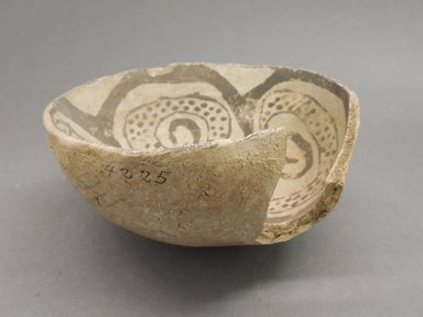 Ancient Pueblo (Anasazi). <em>Bowl</em>, 900-1050. Clay, 5 5/8 x 2 5/8 in. (14.3 x 6.7 cm). Brooklyn Museum, Museum Expedition 1903, Museum Collection Fund, 03.325.4225. Creative Commons-BY (Photo: Brooklyn Museum, CUR.03.325.4225_view1.jpg)