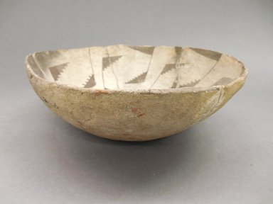 Ancient Pueblo (Anasazi). <em>Bowl</em>, 700-900 (probably). Clay, 7 1/2 x 2 5/8 in. (19.1 x 6.7 cm). Brooklyn Museum, Museum Expedition 1903, Museum Collection Fund, 03.325.4226. Creative Commons-BY (Photo: Brooklyn Museum, CUR.03.325.4226_view1.jpg)