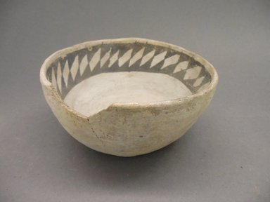 Ancient Pueblo (Anasazi). <em>Bowl</em>, 875-1000. Clay, 2 7/8 x 6 in. (7.3 x 15.2 cm). Brooklyn Museum, Museum Expedition 1903, Museum Collection Fund, 03.325.4230. Creative Commons-BY (Photo: Brooklyn Museum, CUR.03.325.4230.jpg)
