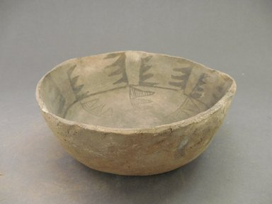 Ancient Pueblo (Anasazi). <em>Bowl</em>, 500-750. Clay, 2 1/2 x 7 1/16 in. (6.4 x 17.9 cm). Brooklyn Museum, Museum Expedition 1903, Museum Collection Fund, 03.325.4233. Creative Commons-BY (Photo: Brooklyn Museum, CUR.03.325.4233_view1.jpg)