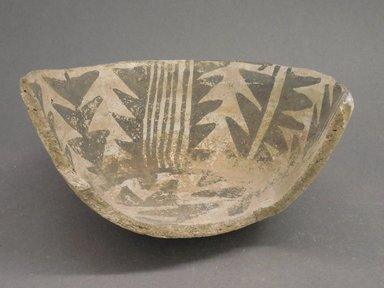 Ancient Pueblo (Anasazi). <em>Bowl Fragment</em>, 700-1100 (probably). Clay, 6 1/4 x 3 in (15.0 x 7.6 cm). Brooklyn Museum, Museum Expedition 1903, Museum Collection Fund, 03.325.4242. Creative Commons-BY (Photo: Brooklyn Museum, CUR.03.325.4242.jpg)