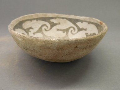 Ancient Pueblo (Anasazi). <em>Bowl</em>. Clay, slip, 2 1/4 x 6 in. (5.7 x 15.2 cm). Brooklyn Museum, Museum Expedition 1903, Museum Collection Fund, 03.325.4247. Creative Commons-BY (Photo: Brooklyn Museum, CUR.03.325.4247_view1.jpg)