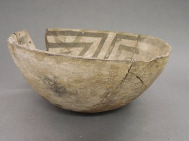 Ancient Pueblo (Anasazi). <em>Bowl</em>, 900-1000 (probably). Clay, 3 7/8 x 9 in. (9.8 x 22.9 cm). Brooklyn Museum, Museum Expedition 1903, Museum Collection Fund, 03.325.4261. Creative Commons-BY (Photo: Brooklyn Museum, CUR.03.325.4261_view1.jpg)