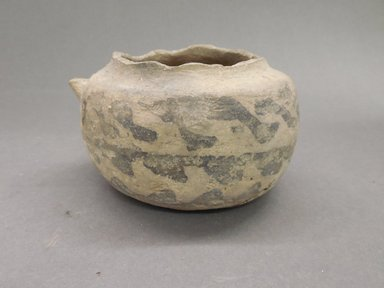 Ancient Pueblo (Anasazi). <em>Jar</em>, 700-900 (probably). Clay, 2 1/2 x 3 7/8 in. (6.4 x 9.8 cm). Brooklyn Museum, Museum Expedition 1903, Museum Collection Fund, 03.325.4271. Creative Commons-BY (Photo: Brooklyn Museum, CUR.03.325.4271.jpg)