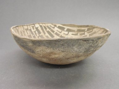 Ancient Pueblo (Anasazi). <em>Bowl</em>, 900-1050 (probably). Clay, 2 5/16 x 6 3/8 in (5.9 x 16/2 cm). Brooklyn Museum, Museum Expedition 1903, Museum Collection Fund, 03.325.4276. Creative Commons-BY (Photo: Brooklyn Museum, CUR.03.325.4276_view1.jpg)