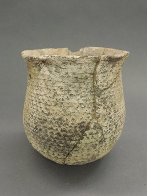 Ancient Pueblo (Anasazi). <em>Jar</em>, 900-1100 (probably). Clay, slip, 6 1/8 x 5 1/4 in. (15.6 x 13.3 cm). Brooklyn Museum, Museum Expedition 1903, Museum Collection Fund, 03.325.4286. Creative Commons-BY (Photo: Brooklyn Museum, CUR.03.325.4286.jpg)