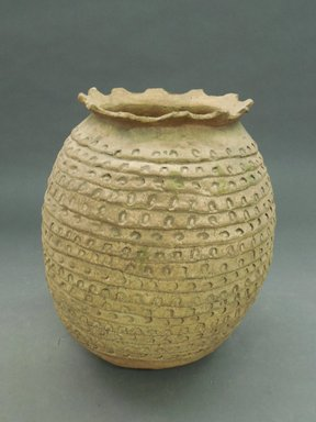 She-we-na (Zuni Pueblo). <em>Coiled Ware Jar</em>. Clay, pigment, 10 1/4 x 8 1/2 in. (26 x 21.6 cm). Brooklyn Museum, Museum Expedition 1903, Museum Collection Fund, 03.325.4728. Creative Commons-BY (Photo: Brooklyn Museum, CUR.03.325.4728.jpg)