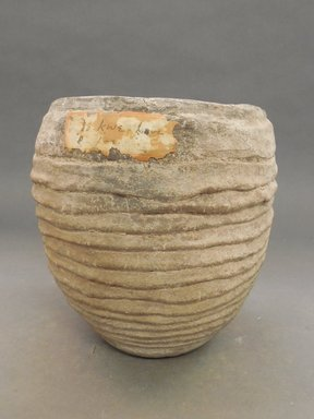 She-we-na (Zuni Pueblo). <em>Coiled Ware Jar</em>. Clay, 7 3/4 x 8 in. (19.7 x 20.3 cm). Brooklyn Museum, Museum Expedition 1903, Museum Collection Fund, 03.325.4730. Creative Commons-BY (Photo: Brooklyn Museum, CUR.03.325.4730.jpg)