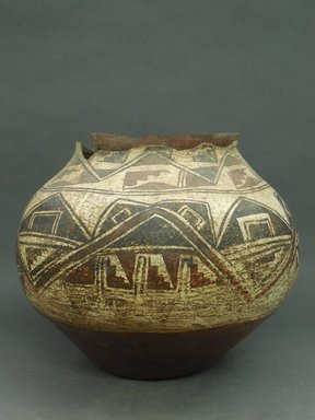 She-we-na (Zuni Pueblo). <em>Water Jar</em>, 18th century. Clay, pigment, 11 x 13 in. (28 x 33 cm). Brooklyn Museum, Museum Expedition 1903, Museum Collection Fund, 03.325.4751. Creative Commons-BY (Photo: Brooklyn Museum, CUR.03.325.4751.jpg)