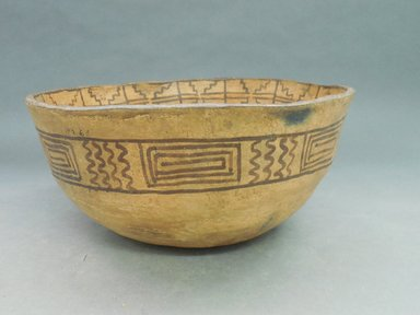 She-we-na (Zuni Pueblo). <em>Food Bowl (To-ya-sa-lai)</em>. Clay, slip, 5 5/16 x 11 5/8 x 11 5/8 in. (13.5 x 29.5 x 29.5 cm). Brooklyn Museum, Museum Expedition 1904, Museum Collection Fund, 04.297.5261. Creative Commons-BY (Photo: Brooklyn Museum, CUR.04.297.5261_view1.jpg)